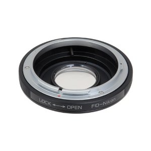 Canon FD Lens to Nikon Adaptor - Canon FD Lens to Nikon Camera Adaptor