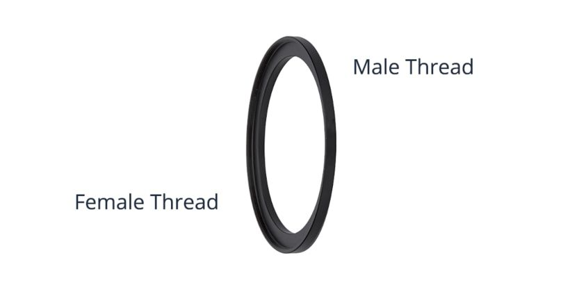 Male and Female Step Ring