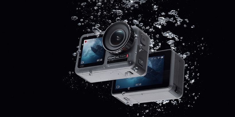 The DJI Osmo Action is waterproof and dustproof